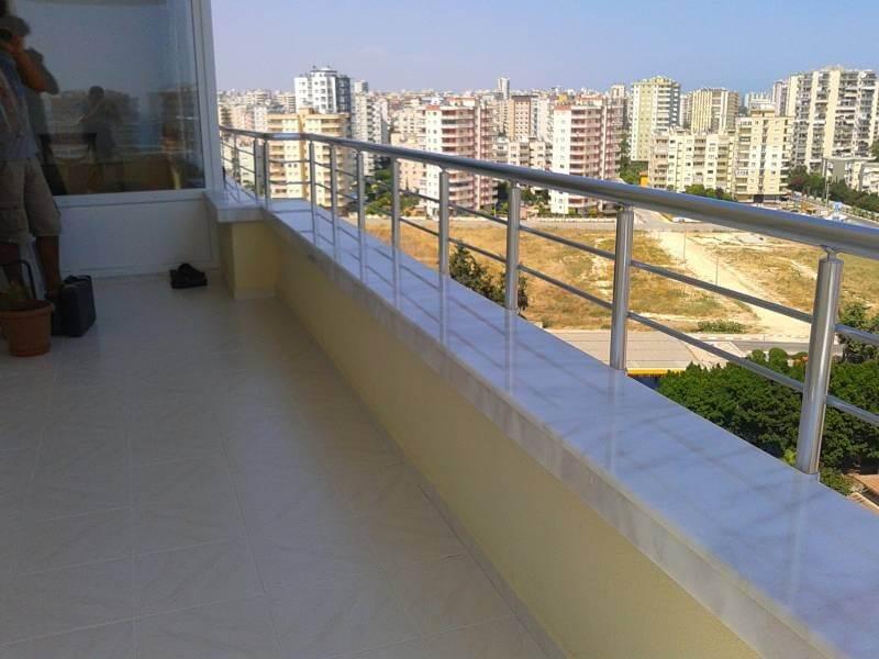 Öztaş Mermer Granit - Balkon ve Küpeşte Denizlik Çalışma