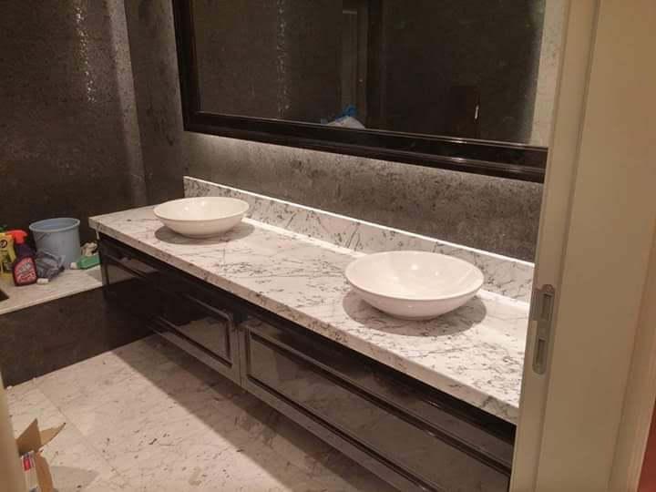 Öztaş Mermer Granit - Banyo Tezgah Modellerimiz 01