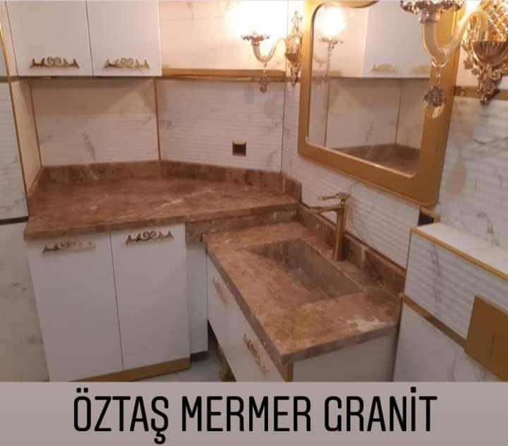 Öztaş Mermer Granit - Banyo Tezgah Modellerimiz 17